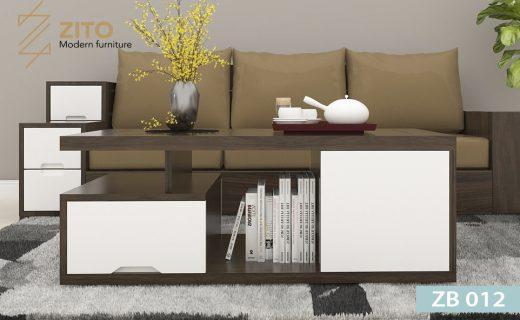 Mẫu bàn trà gỗ ZB 012 đẹp cho phòng khách