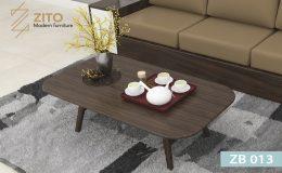 Mẫu bàn trà gỗ ZB 013 đẹp cho phòng khách