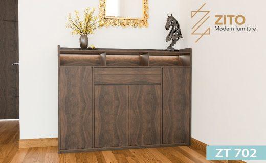 Tủ giầy gỗ ZT 702 đẹp, hiện đại và trẻ trung
