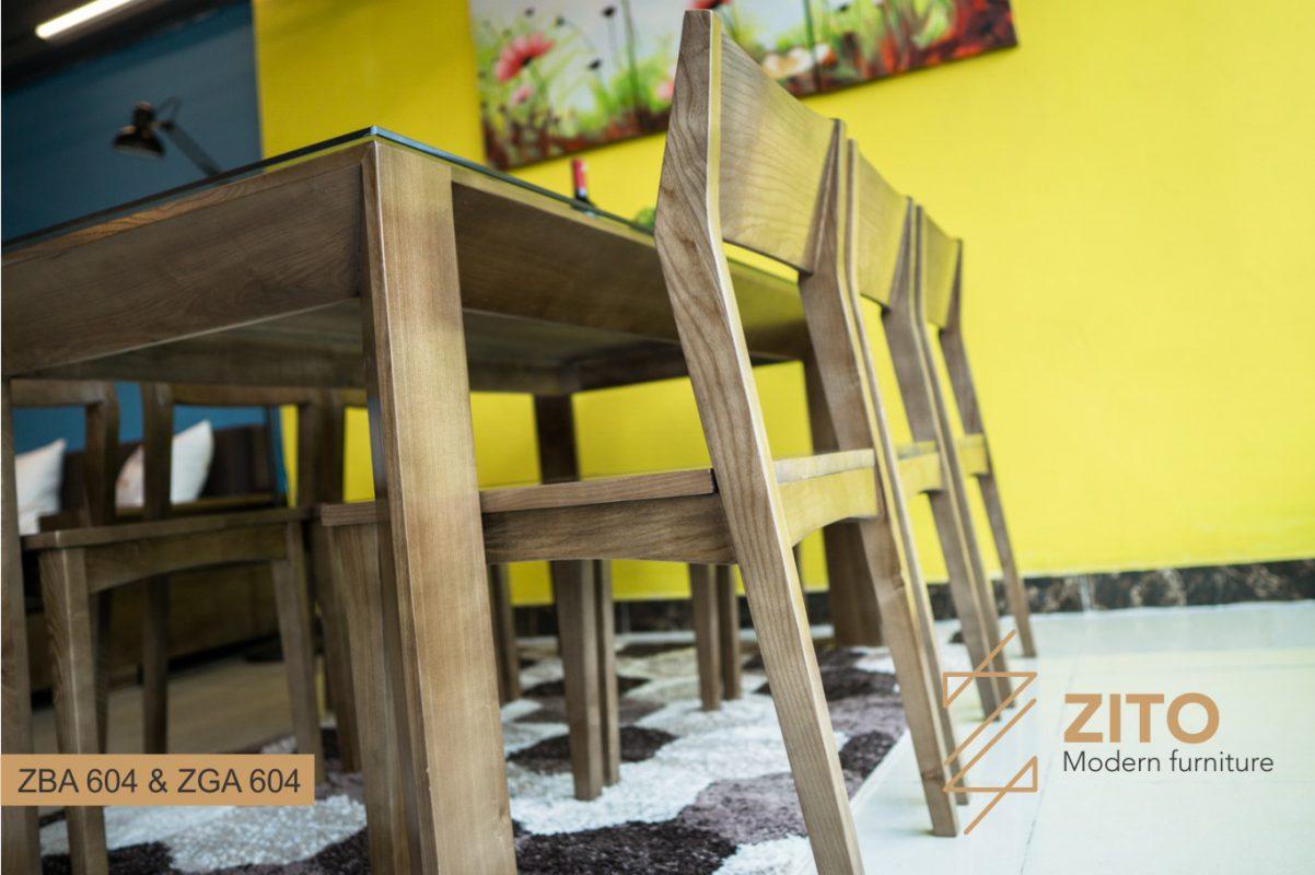 Bàn ghế ăn gỗ đẹp cho phòng ăn