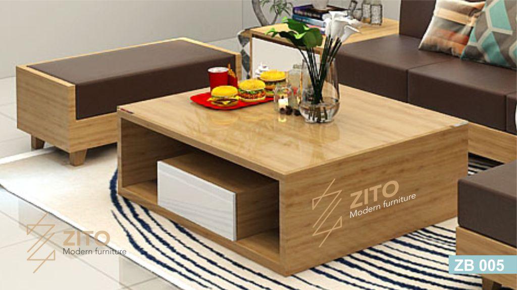 Bàn trà gỗ thông minh mã ZB005 tại nội thất ZITO
