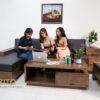 xu hướng lựa chọn sofa gỗ