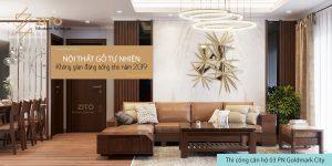 ZITO thiết kế thi công nội thất căn hộ chung cư GoldMark city