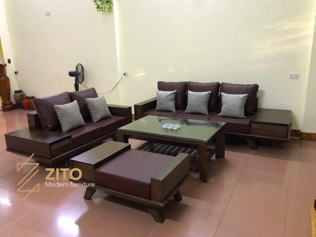 Hình ảnh Bộ Sofa Zg 129 Tại Nhà Anh Việt 1
