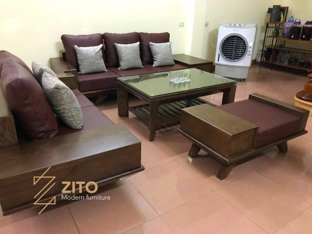 Hình ảnh Bộ Sofa Zg 129 Tại Nhà Anh Việt 2