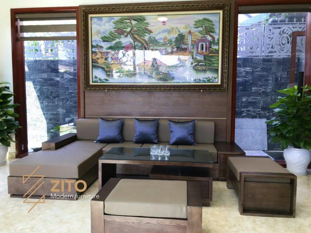 Hình ảnh Thực Tế Bộ Sofa Zg 101 Tại Nhà Anh Hoài 2