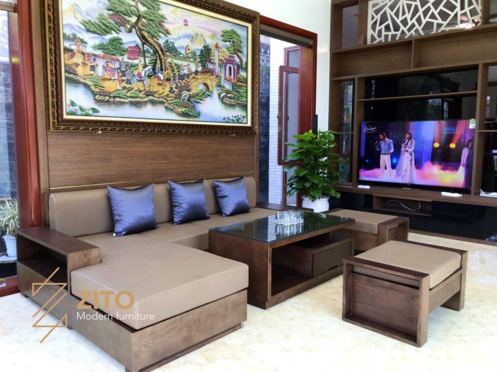 Hình ảnh Thực Tế Bộ Sofa Zg 101 Tại Nhà Anh Hoài 6