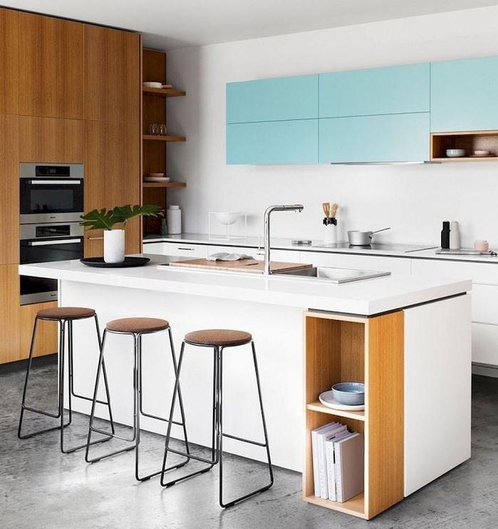 mẫu tủ bếp đẹp xu hướng năm 2019