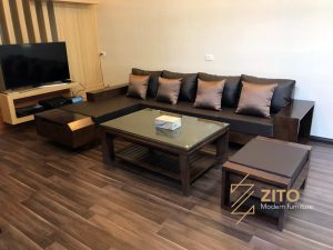 Ảnh bàn giao bộ sofa ZG 118 tại nhà chị Hương – Nghệ An