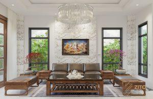 Thiết kế thi công nội thất biệt thự Paris, Vinhomes Hải Phòng