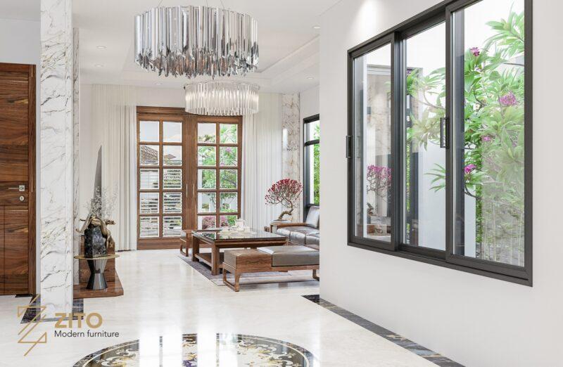 Thiết kế thi công nội thất biệt thự Paris Vinhomes Hải Phòng 5 Thiết kế thi công nội thất biệt thự Paris Vinhomes Hải Phòng