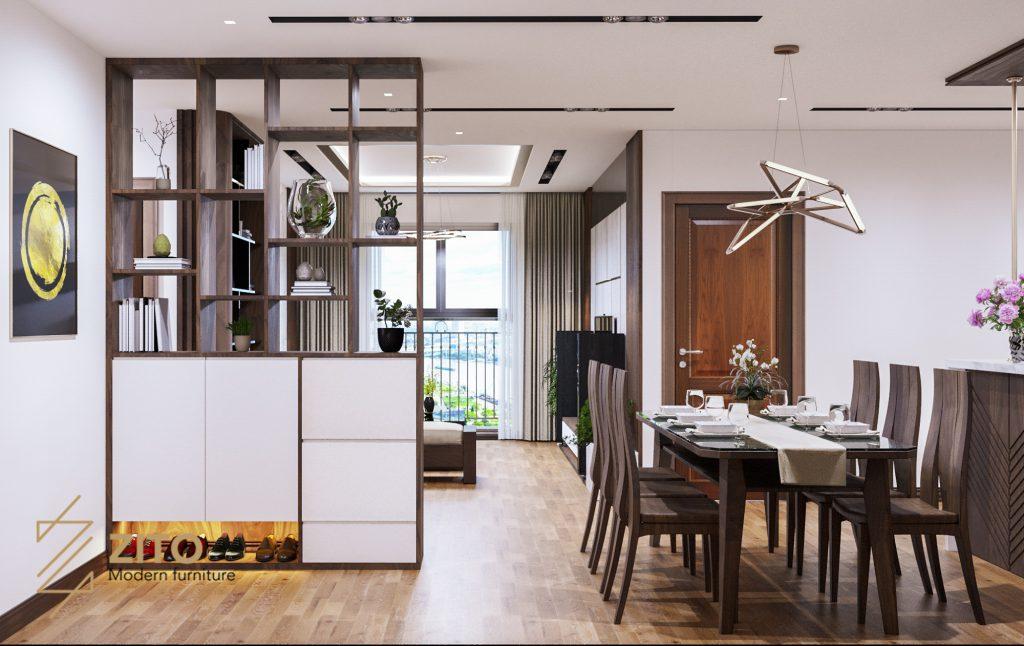 Thiết kế thi công nội thất căn hộ E3-04 – Dự án The Emerald