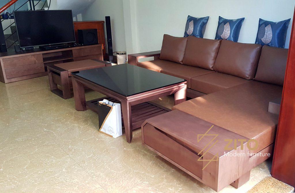 Nhìn lại hình ảnh bàn giao bộ sofa ZG 118 tại nhà khách