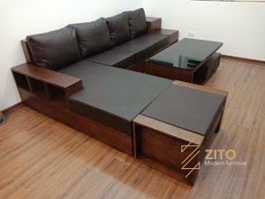 Hình ảnh bàn giao bộ sofa ZG 105 tại nhà chị Thúy – Hà Nội
