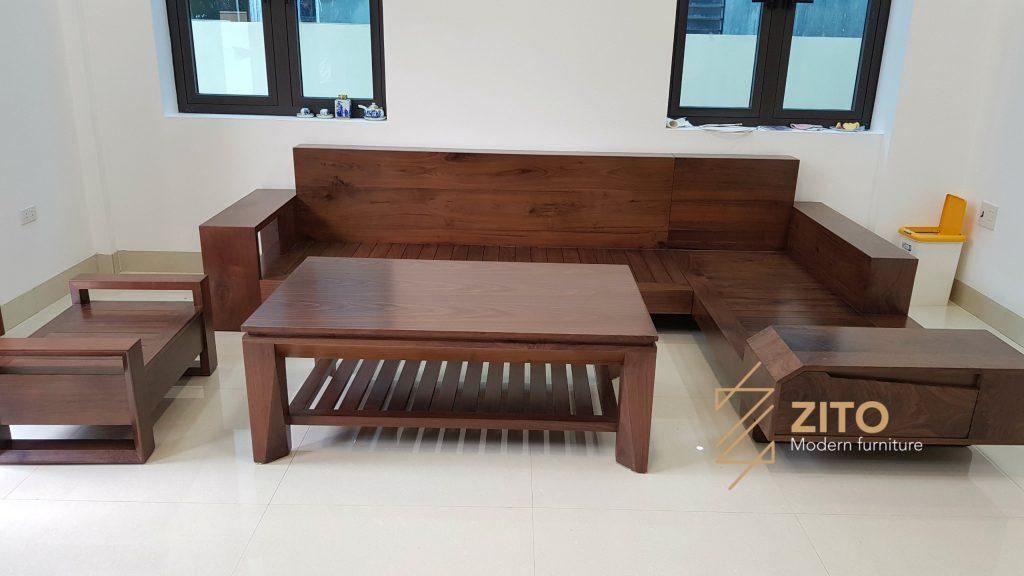 Chiêm ngưỡng hình ảnh bàn giao bộ sofa ZG 118 tại nhà anh Thanh Bình – Quảng Ninh