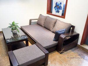 Sofa văng giường gỗ ZG 136