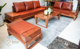 Sofa gỗ chữ U ZG 134