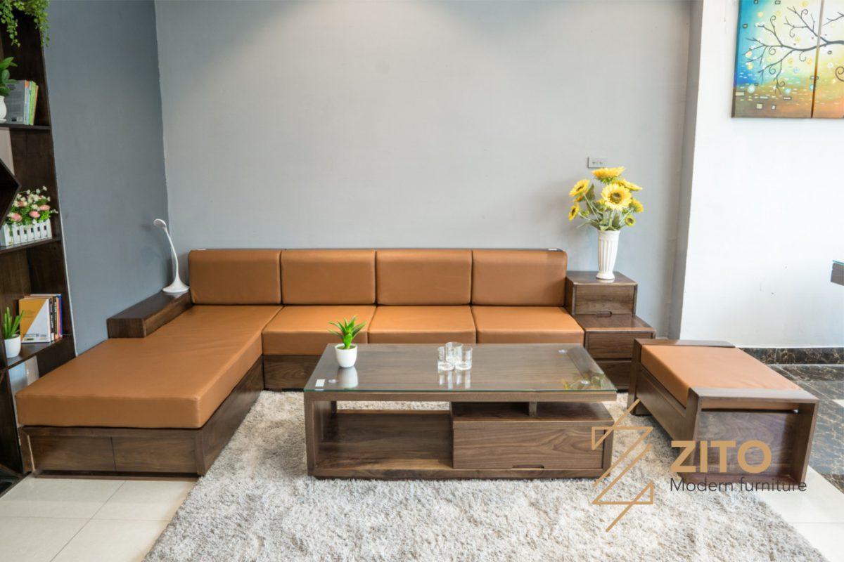 Mẫu bàn ghế ZG 105 đẹp cho phòng khách