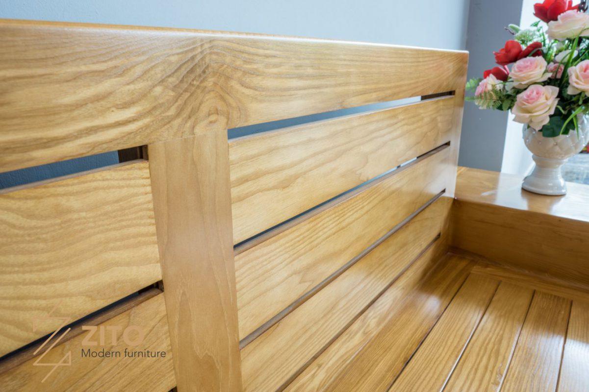 Sofa gỗ Sồi chữ L ZG 101 S05