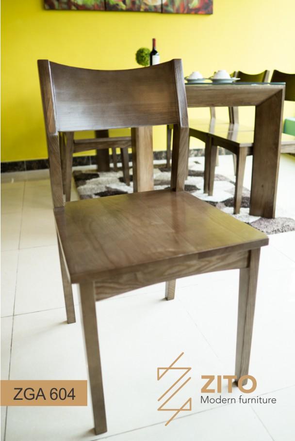 Ghế ăn gỗ sồi tự nhiên ZGA 604