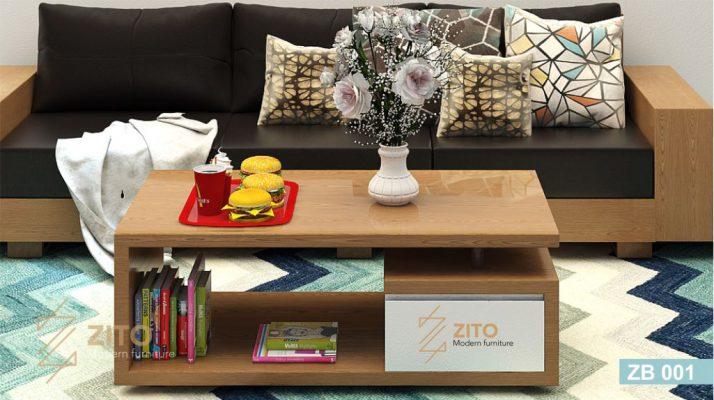 Bàn trà gỗ tự nhiên – Lựa chọn hoàn hảo cho phòng khách hiện đại