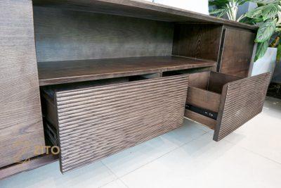 Kệ tivi gỗ hiện đại ZK 510 S08 tiện lợi với nhiều hộc đựng đồ