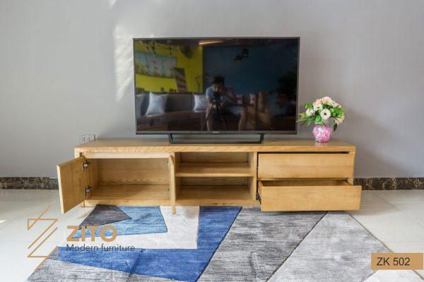 Kệ tivi gỗ sồi ZK 502 S01