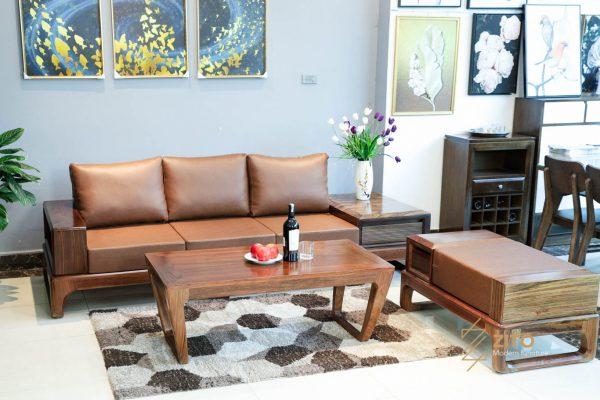 Sofa văng gỗ mun ZG 133 GM