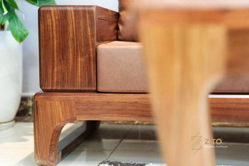 SOFA GO MUN ZG133 ZITO 29 Sofa văng gỗ mun ZG 133 hiện đại