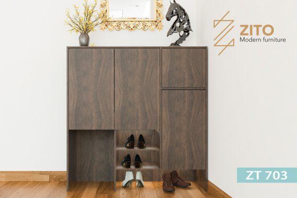 Tủ giày gỗ Sồi ZT 703