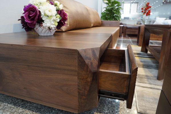 Bàn ghế sofa gỗ óc chó có bền không?