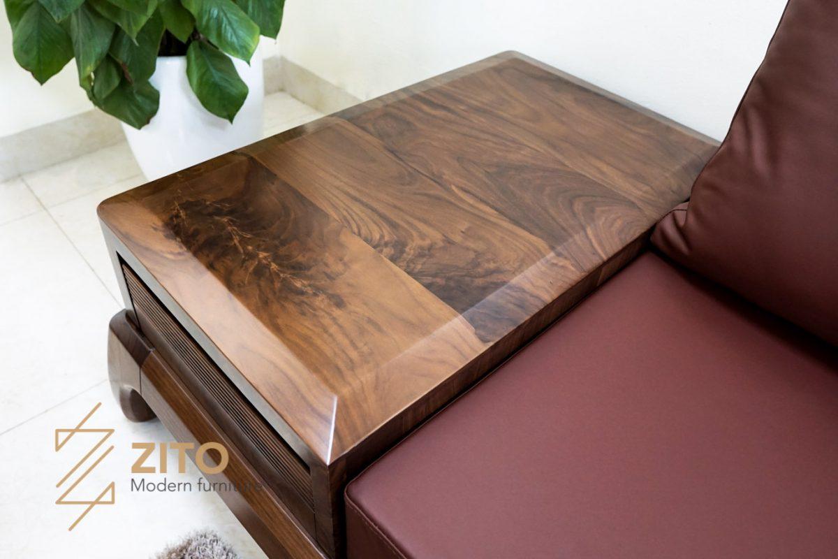 bàn ghế sofa làm bằng gỗ óc chó có bền không