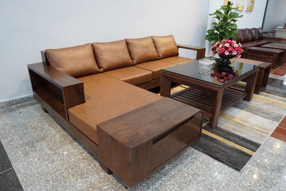 Mua bàn ghế sofa gỗ óc chó tại ZITO có bền không