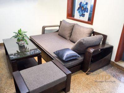 Sofa giường gỗ tự nhiên ZG 136 S10