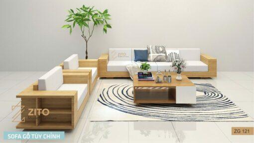zg 121 bộ sofa chữ u của nội thất zito