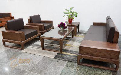 Thiết kế độc đáo của sofa gỗ sồi ZG 138 của ZITO