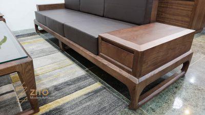 sofa chữ U ZG 138 sử dụng chất liệu đệm cao cấp