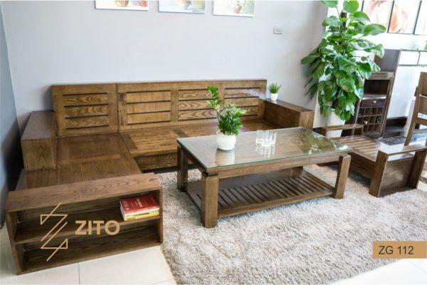 Chất liệu gỗ làm bàn ghế sofa gỗ cao cấp cho phòng khách