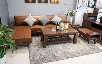 Kiểu dáng sofa góc L ZG 132 S08