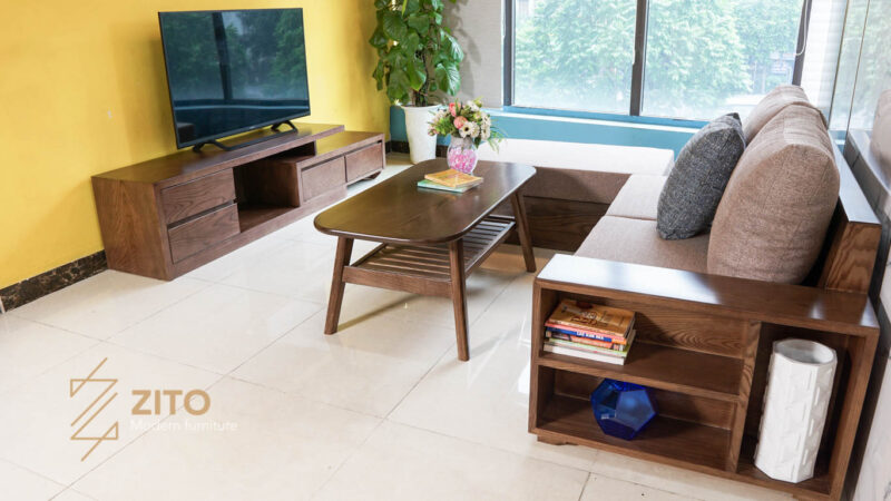 Sofa văng ZG 135 S08 có thiết kế tợi lợi