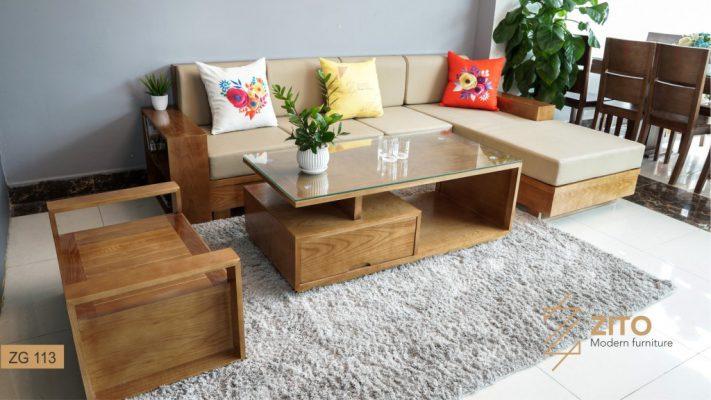 Bàn ghế sofa đẹp cho phòng khách hiện đại