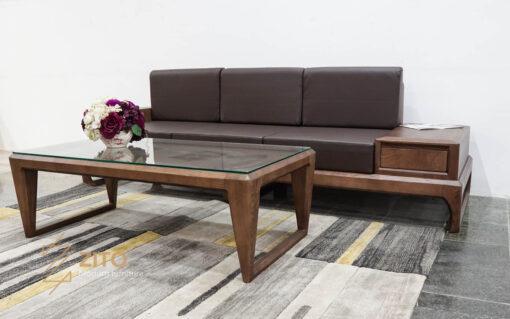 Sofa văng gỗ sồi ZG 133 S08