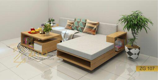 mẫu sofa hiện đại góc L ZG 107
