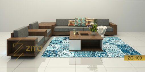 zg 109 thiết kế mẫu sofa hiện đại