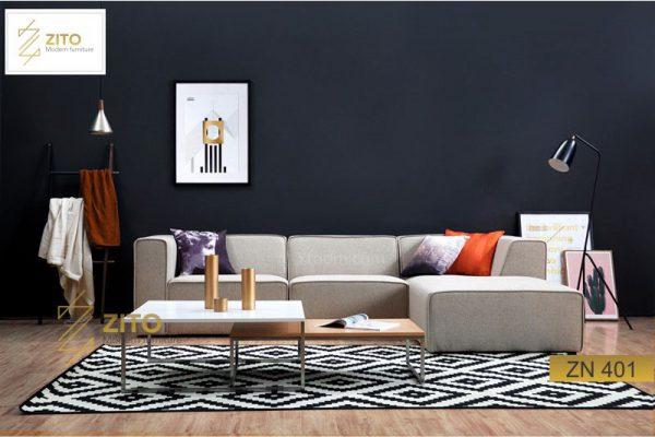 Chọn bàn ghế sofa gỗ cho phòng khách nhỏ