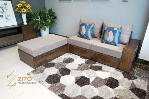 Kiểu dáng sofa văng hiện đại ZG 135