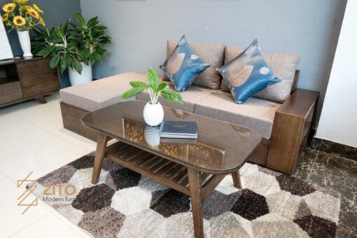 Thiết kế sofa văng gỗ sồi ZG 135 S08