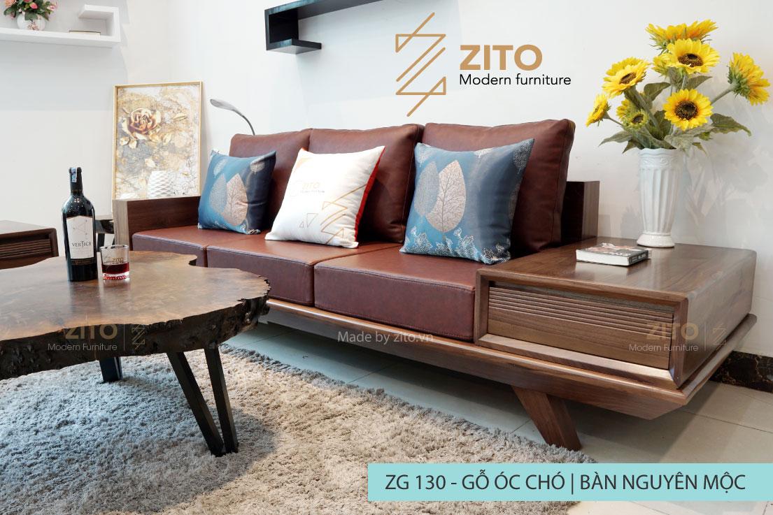 Sofa văng ZG 130 cho phòng khách