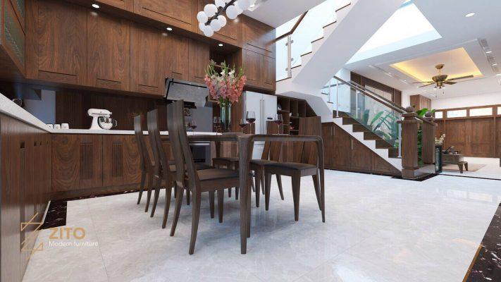 Thiết kế thi công nội thất biệt thự Vinhomes Hải Phòng