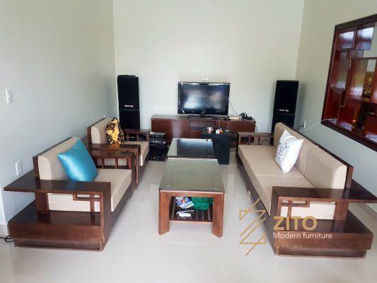 Chiêm ngưỡng ảnh thực tế bộ sofa ZG 117 tại nhà anh Mạnh – Hải Phòng
